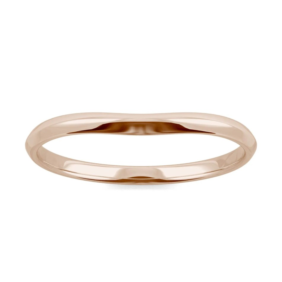 httpss3.amazonaws.commoissanite2 media importimages620856 1a band foreverone moissanite 14k rose gold ring