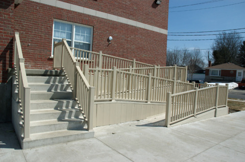 Create Easy Home Access With A Wooden Ramp