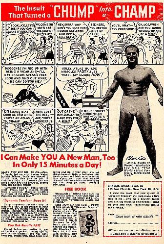 Charles Atlas Ltd Classic Ads