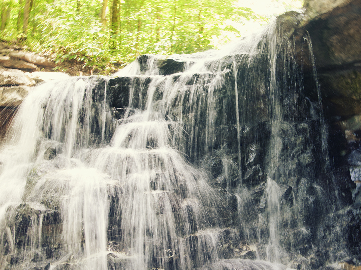 charles i. letbetter - waterfalls and sunshine