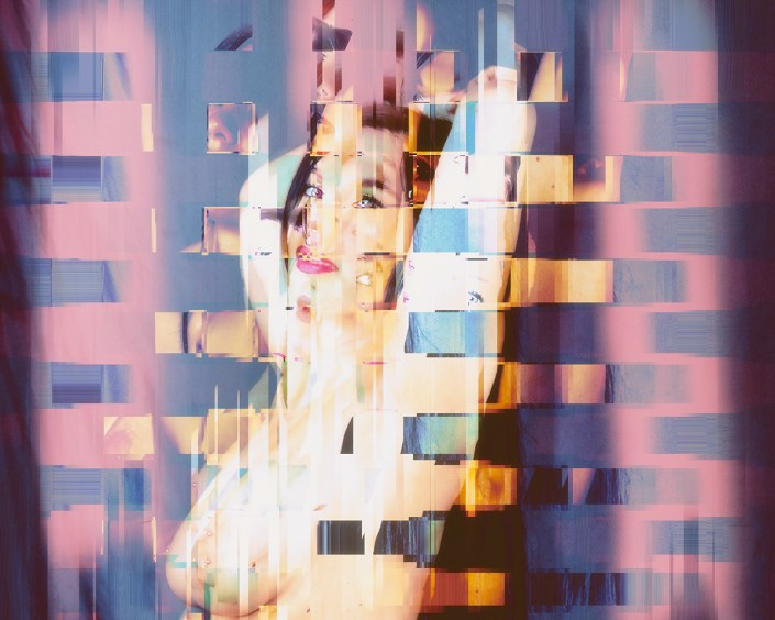 Pinup Abstraction - charles i. letbetter