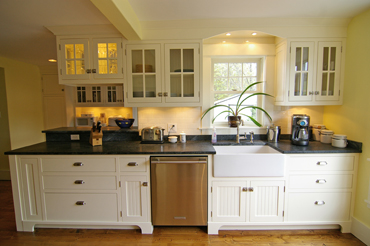 cabinets with glass doors