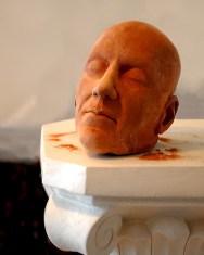 Clay Head on a Pedestal