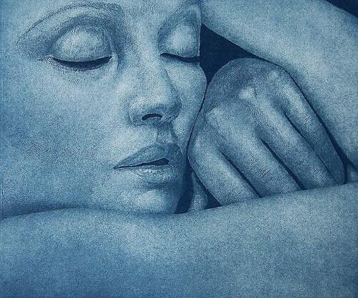Sleeper, blue