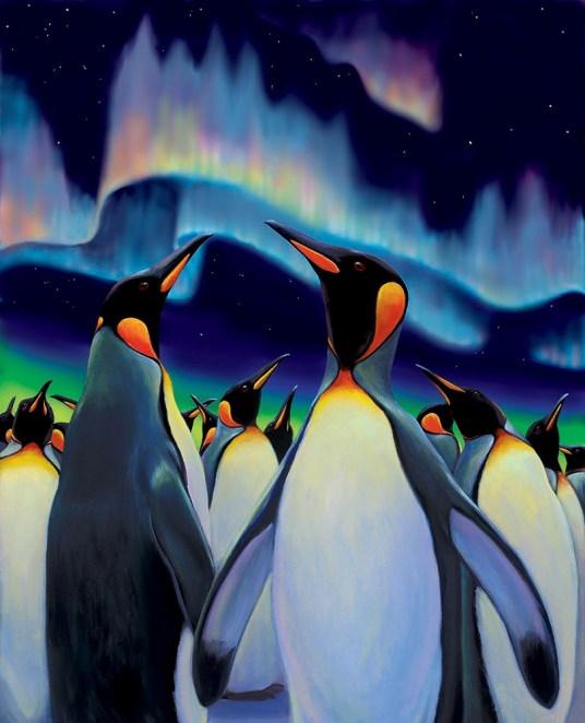 Penguin Light Parade