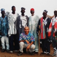 CLB and regional Chief gathering to discuss community problems, Ghana