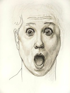 Facial expression study, WOW!