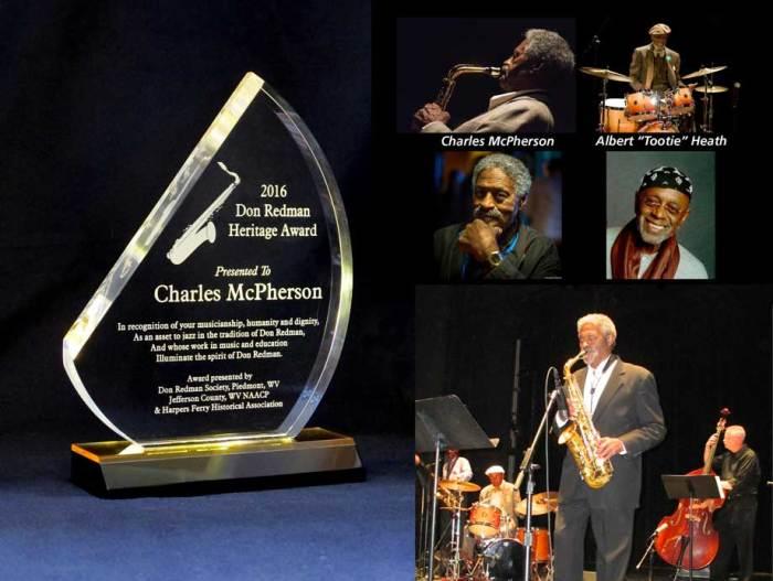 Charles McPherson wins Heritage Award