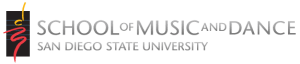 SDSU School of Music and Dance Logo