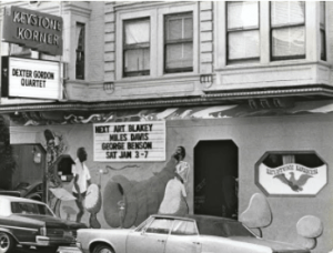 Keystone Korner jazz club San Francisco