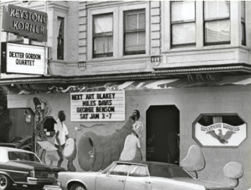 Keystone Korner jazz club San Francisco