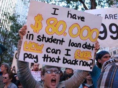 student debt idiot