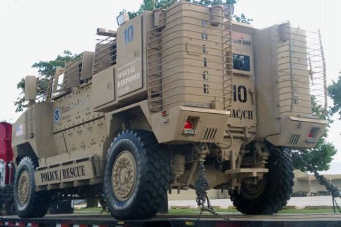 dhs vehicle