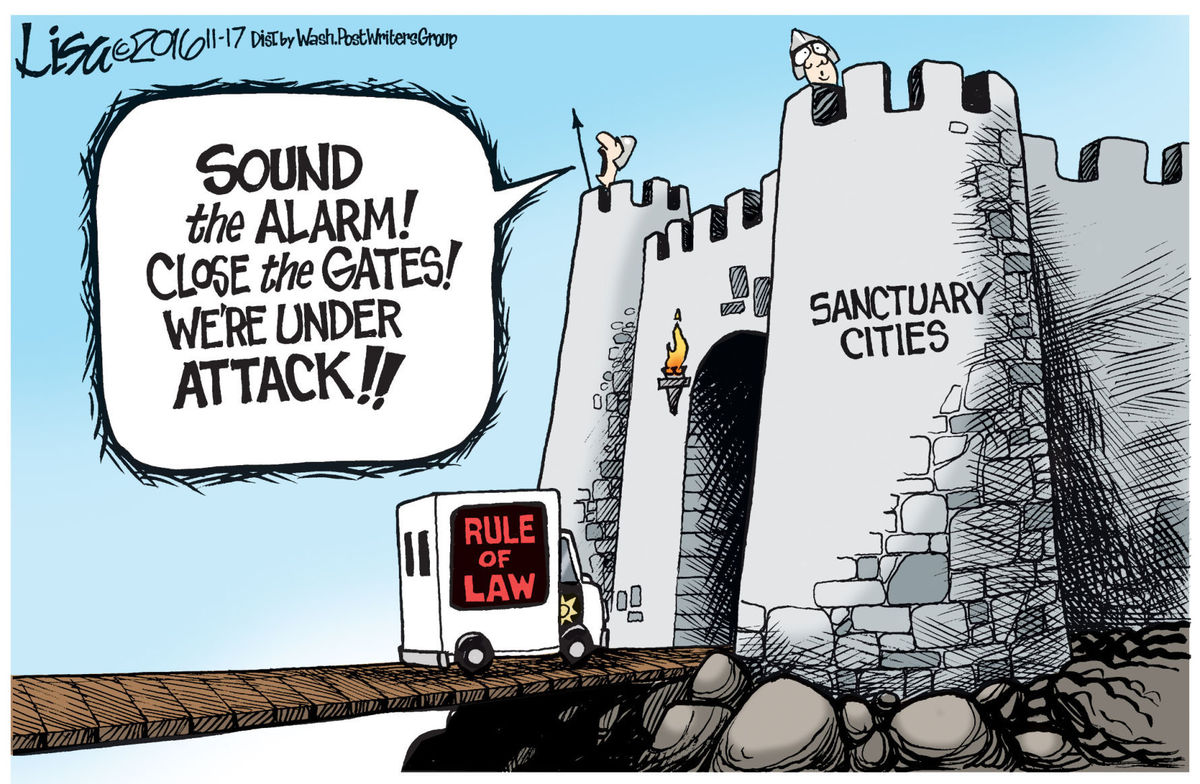 Sanctuary Cities - Intent Follows the Illegal Immigrant