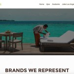Luxury in Wellness - Wordpress website