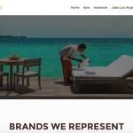 Luxury in Wellness - Wordpress website