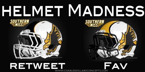 Southern Miss helmet madness round 2 set 4