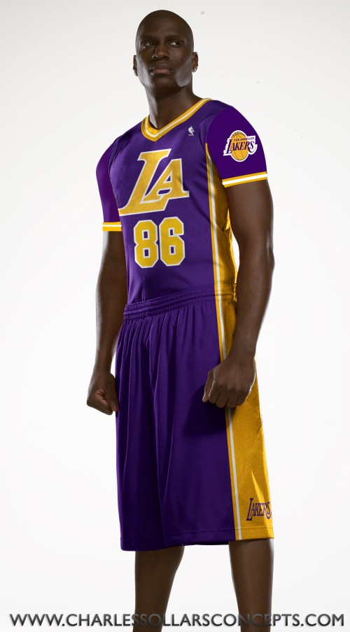 lakers sleeved 11