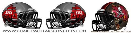 bucs helmet 2