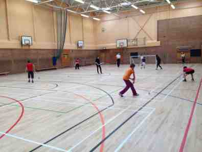 First Shinty Passing Drills: Coached by Andrew Morrison