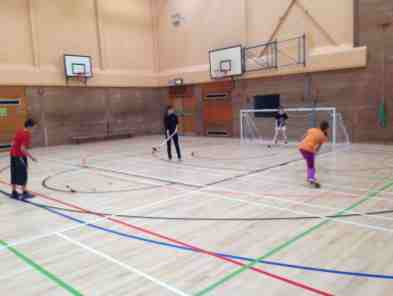 First Shinty Shooting Drills