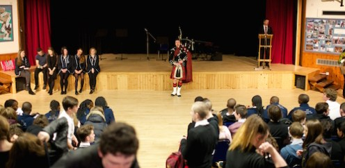Euan concluded the assembly