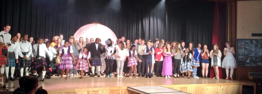 The Finale at the Fashion Show