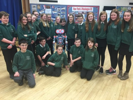 Beauly Primary with the Mechanoid
