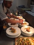 Plating up the main