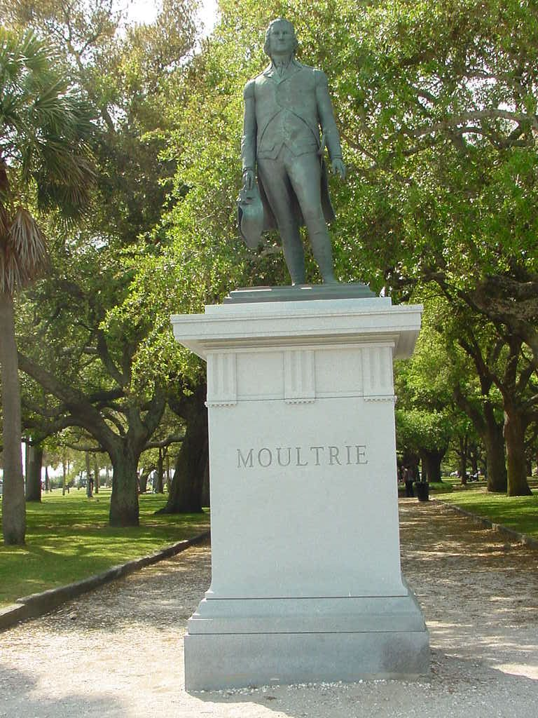 Image result for william moultrie statue