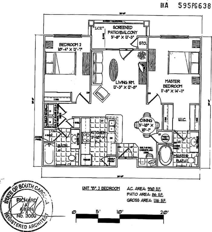 condo floor plan