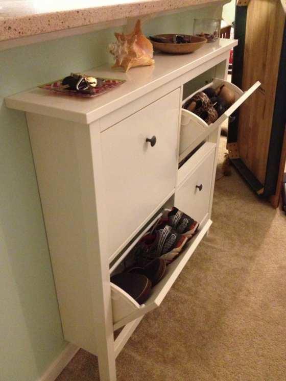 Creating Entryway Shoe Storage - Charleston Crafted