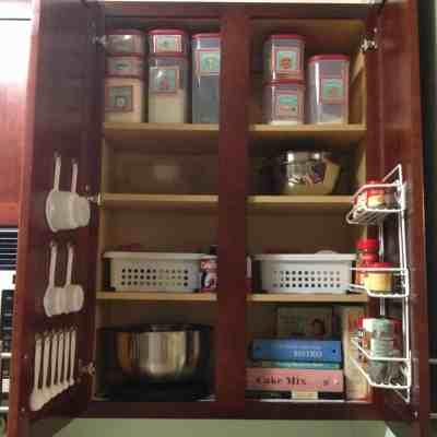 Kitchen Organization: Creating a Baking Cabinet