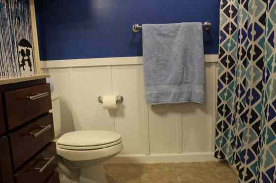 Guest Bathroom After - Charleston Crafted