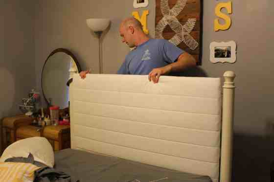 Upholster a Wrought Iron Headboard - Charleston Crafted