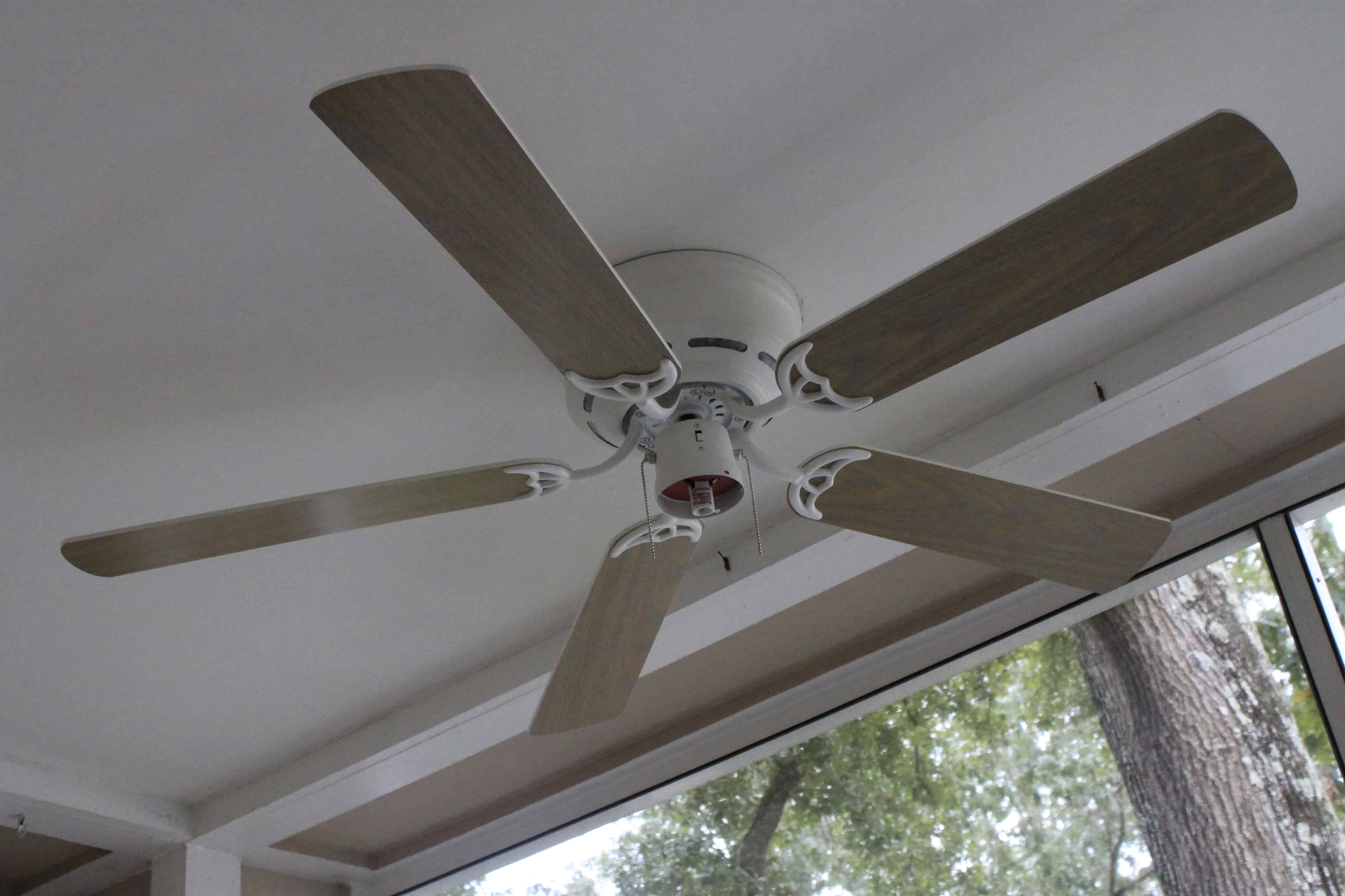 Installing a Porch Ceiling Fan • Charleston Crafted