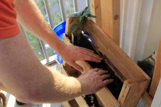 Vertical Herb Garden - Charleston Crafted