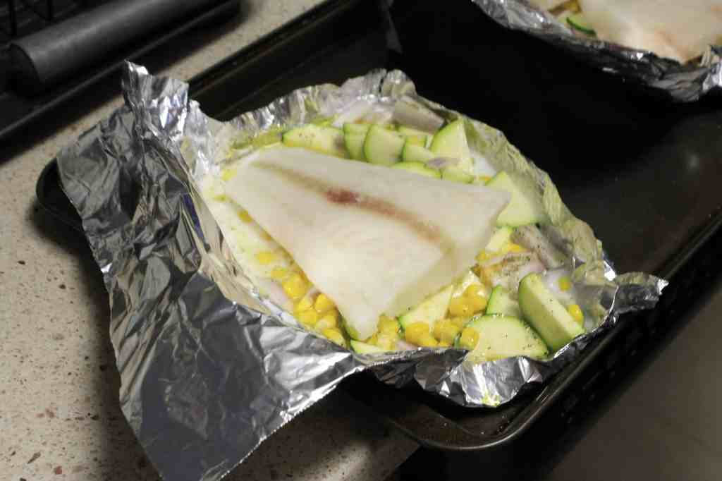 Eat it or beat it coconut fish foil packets charleston for Fish foil packets oven