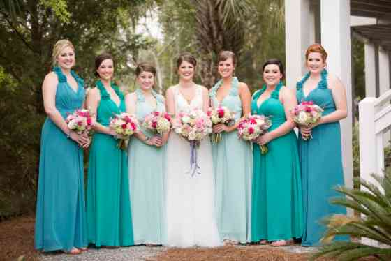 Bridesmaid Photos Before Ceremony - Charleston Crafted