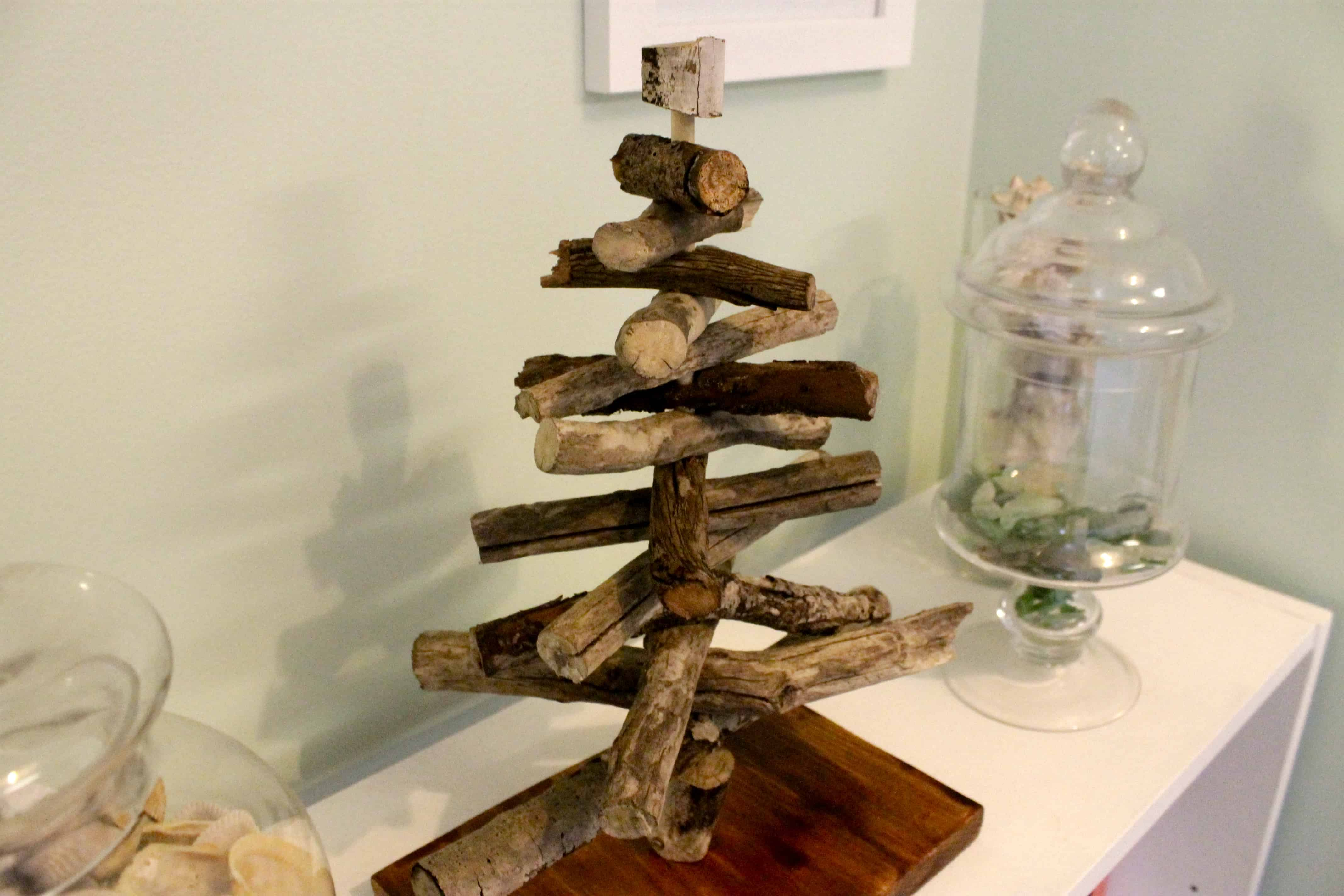 Crafting a Driftwood Christmas Tree \u2022 Charleston Crafted