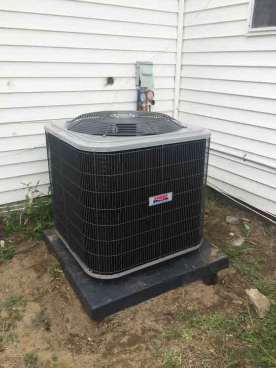 New HVAC Unit from James Island Heating and Air - Charleston Crafted