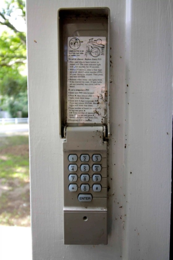 How To Replace A Garage Door Keypad Charleston Crafted