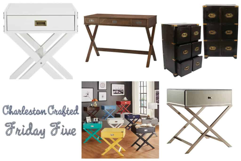 Friday Five   Campaign Furniture Under $200