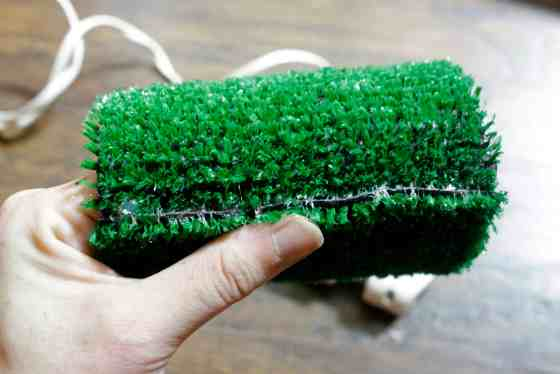 DIY Football Koozies and Coasters with Astroturf - Charleston Crafted