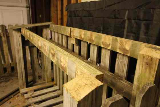 Building a Wood Shed from Old Fence - Charleston Crafted