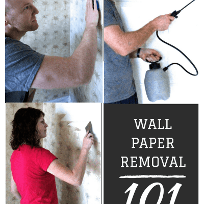 Our Experience Removing Wallpaper