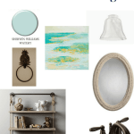 Half Bathroom Mood Board Design - Charleston Crafted