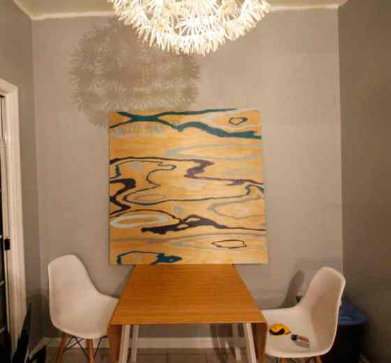 An Easy DIY Wood Grain Painting & 3-D Mounting - Charleston Crafted