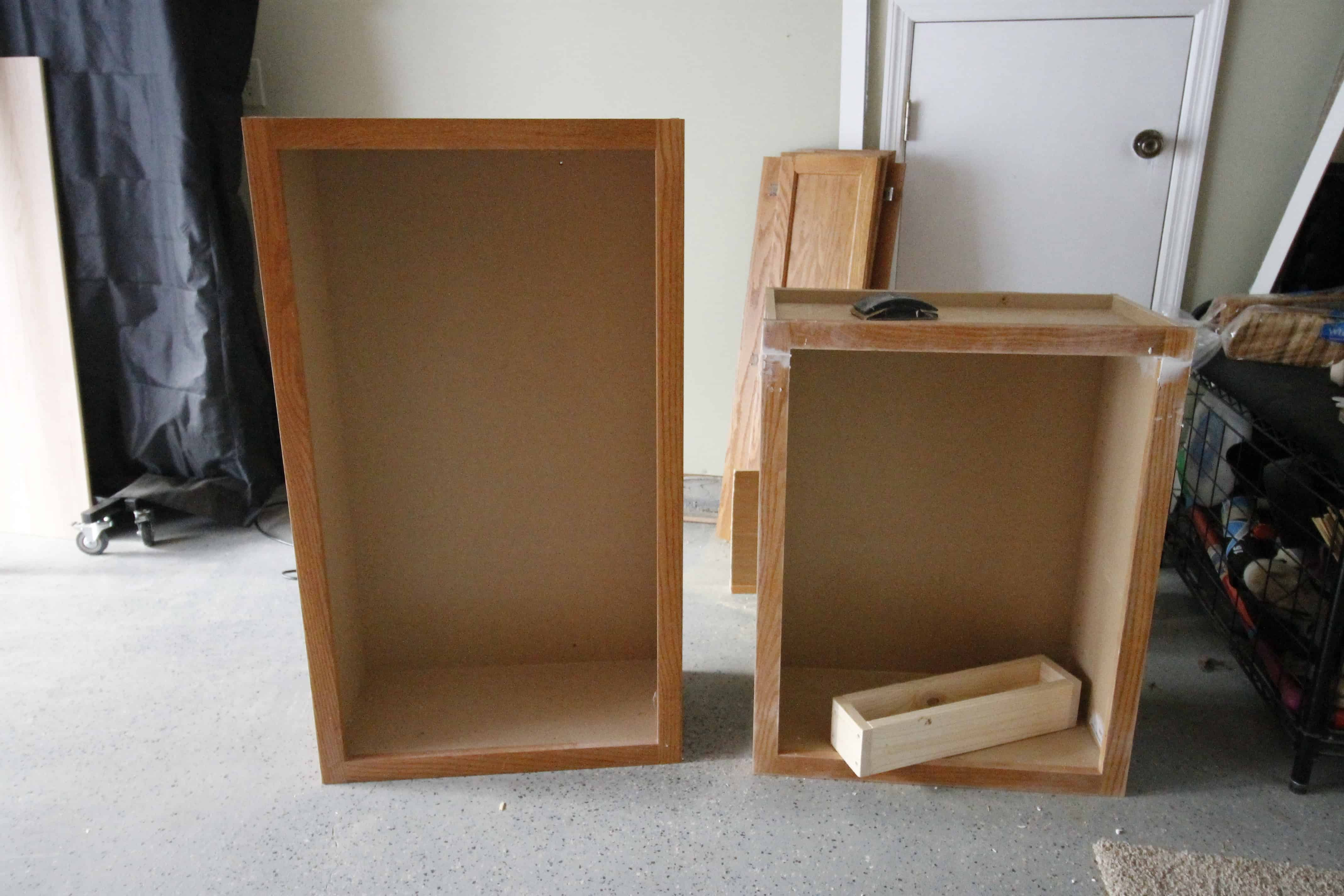 Turning a Cabinet into a Pull Out Trash Can • Charleston Crafted