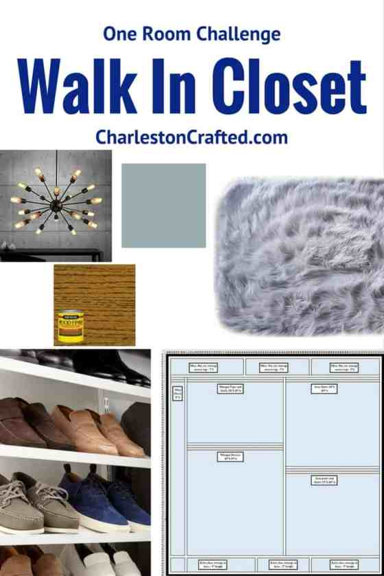 One Room Challenge Week 1: Master Closet Design Plan - Charleston Crafted